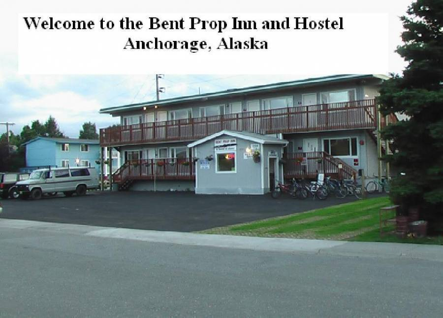 Bent Prop Inn, Anchorage, Alaska, Alaska bed and breakfasts and hotels