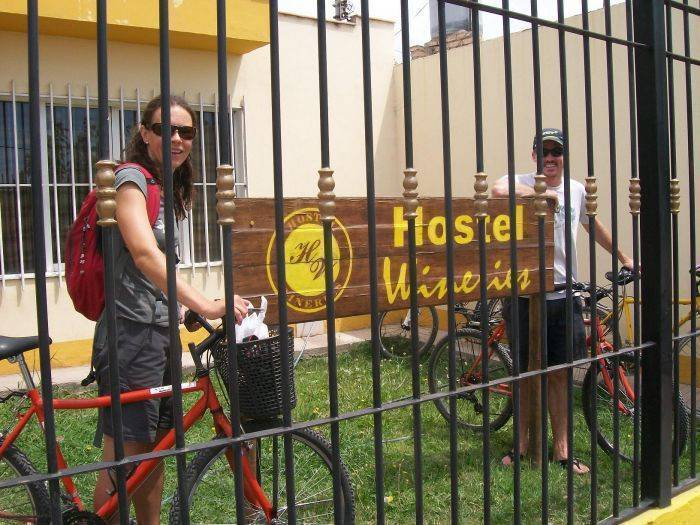 Hostel Wineries, Mendoza, Argentina, low cost lodging in Mendoza