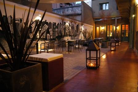 Le Grand Hostel, Cordoba, Argentina, backpackers gear and staying in cheap hotels or budget hostels in Cordoba