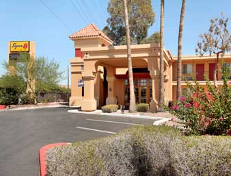 Super 8 Phoenix North, Phoenix, Arizona, no booking fees in Phoenix