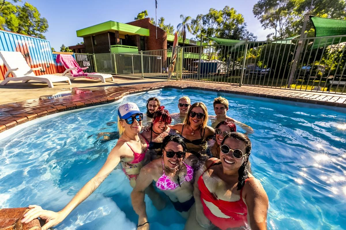 Haven Backpacker Resort, Alice Springs, Australia, book unique hostels or cheap hotels and experience a city like a local in Alice Springs
