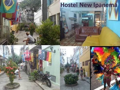 Hostel New Ipanema, Rio de Janeiro, Brazil, affordable backpackers hostels in Rio de Janeiro
