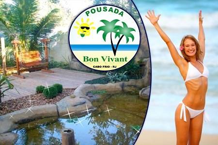 Hotel Pousada Bon Vivant, Cabo Frio, Brazil, Brazil bed and breakfasts and hotels