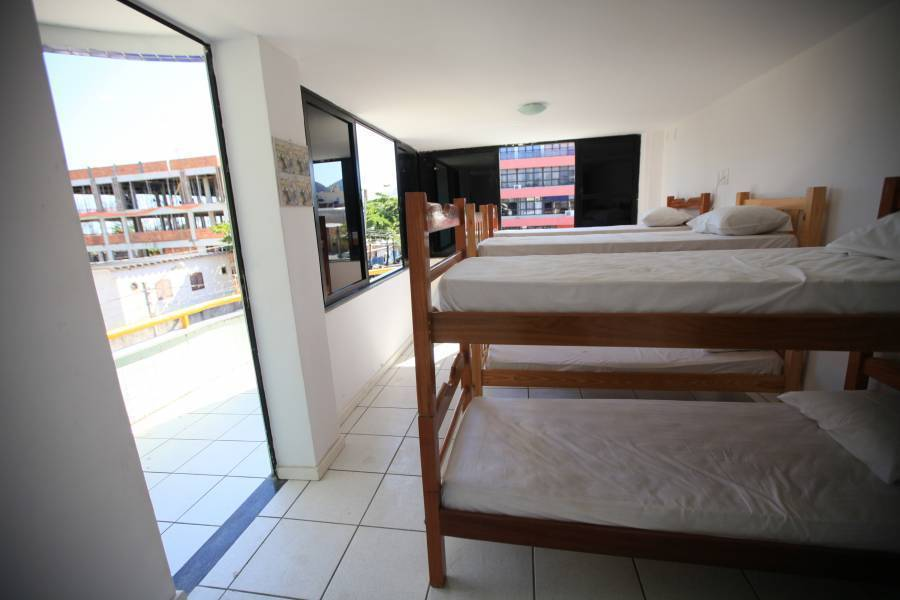 Outside Surf Hostel, Rio de Janeiro, Brazil, travel and bed & breakfast recommendations in Rio de Janeiro