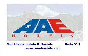 AAE Hostels and Hotel San Diego, Old Town San Diego, California, compare with famous sites for bed & breakfast bookings in Old Town San Diego