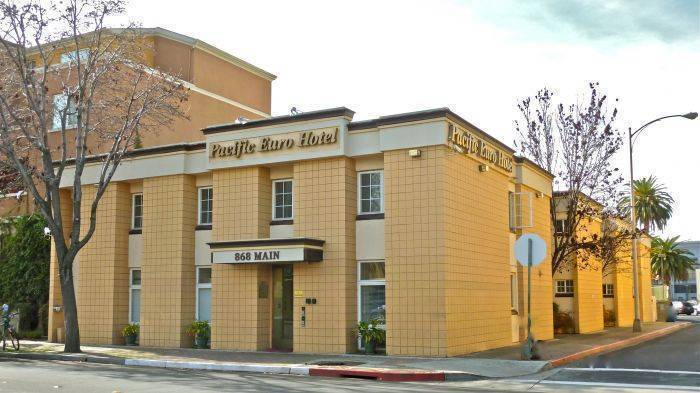 Pacific Euro Hotel, Redwood City, California, California hostels and hotels
