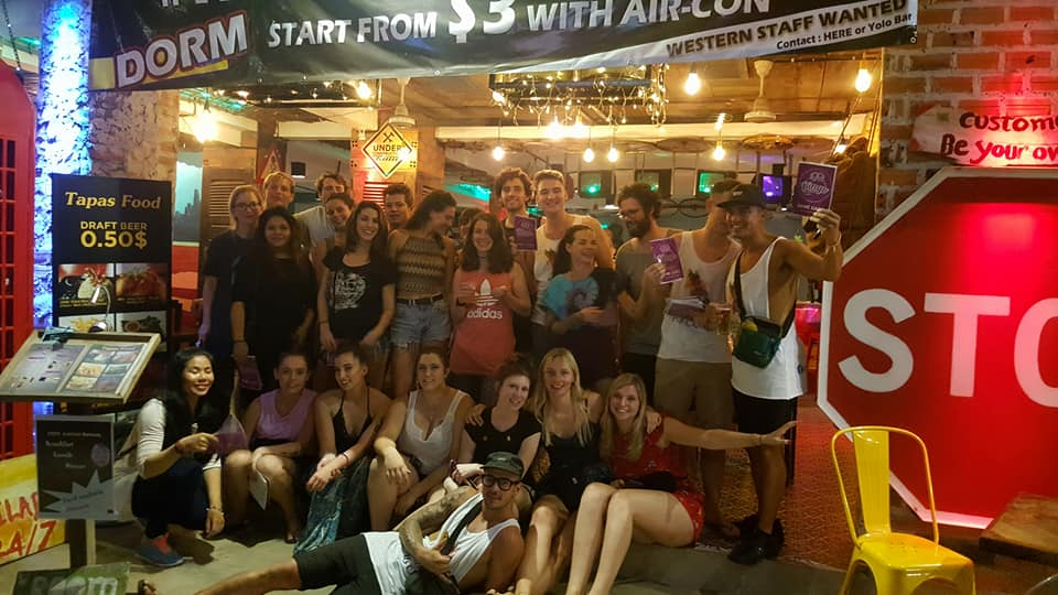 Hangover Hostel and Bar, Siem Reap, Cambodia, Cambodia hostels and hotels