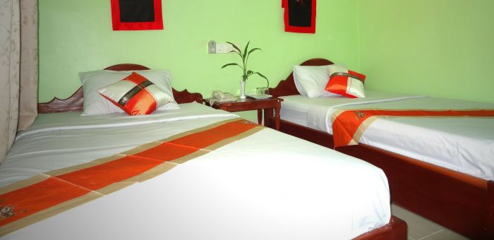 Damnak Riverside Hotel, Siem Reap, Cambodia, Cambodia hostels and hotels