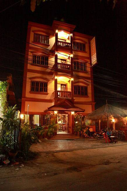 Hotel 89, Siem Reap, Cambodia, low cost lodging in Siem Reap