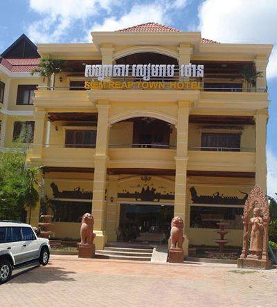 Siem Reap Town Hotel and Spa, Siem Reap, Cambodia, Cambodia bed and breakfasts and hotels