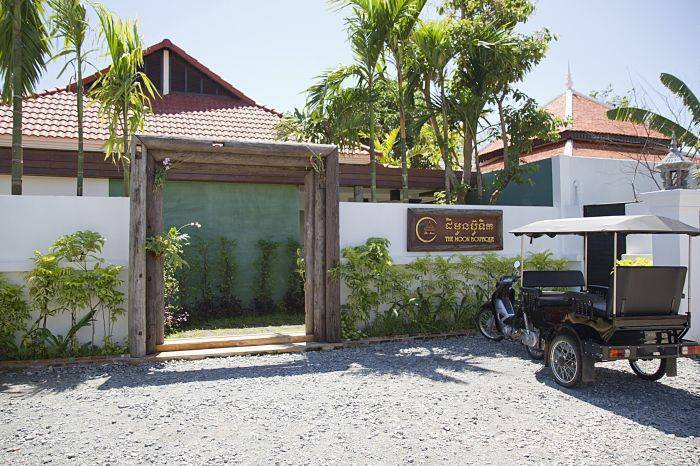 The Moon Boutique Hotel, Siem Reap, Cambodia, travel hostels for tourists and tourism in Siem Reap