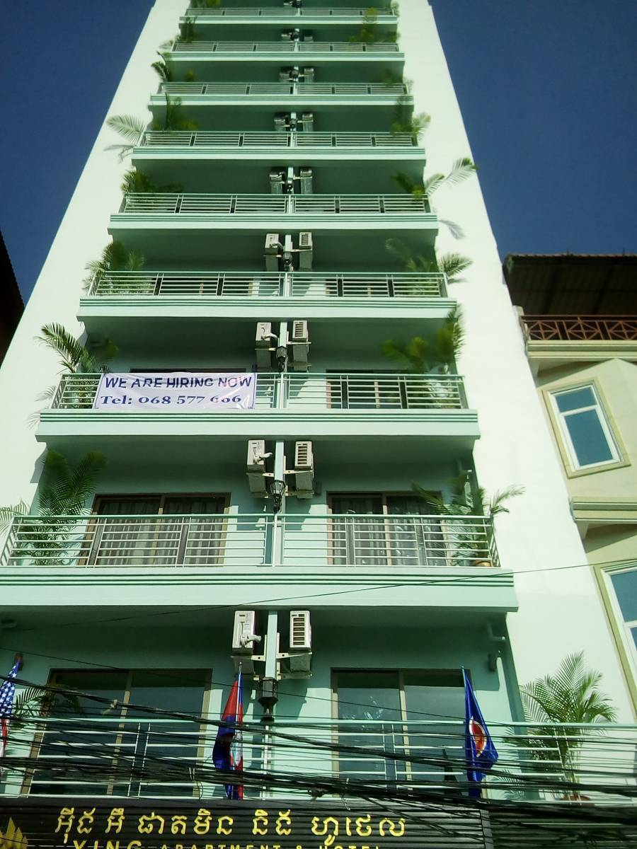 Ying Apartments and Hotel, Tuol Kok, Cambodia, how to find affordable hostels in Tuol Kok