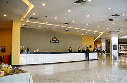 Beijing Days Inn Joiest, Beijing, China, how to select a hostel and where to eat in Beijing