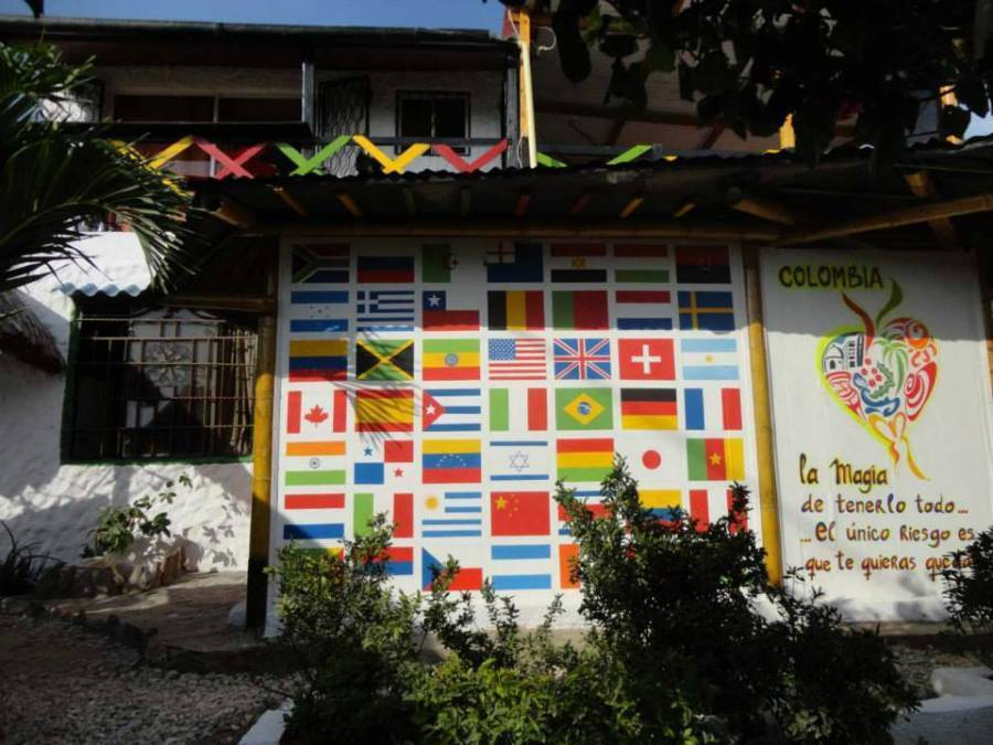 Casa Jamaica Hostel, Taganga, Colombia, Colombia hostels and hotels