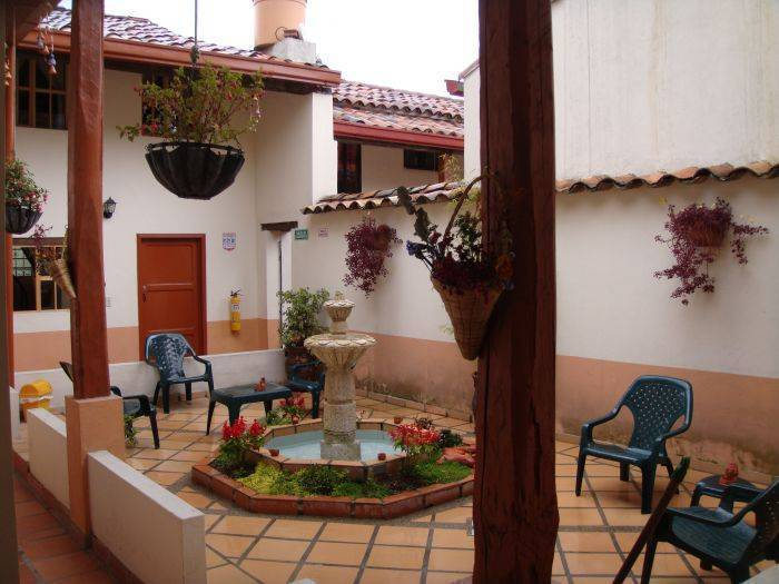 Hostal La Candelaria Bogota, Bogota, Colombia, what are the safest areas or neighborhoods for hostels in Bogota