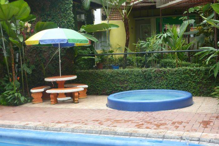 Hotel Arenal Jireh, Fortuna, Costa Rica, hostels with free wifi and cable tv in Fortuna