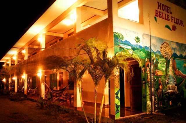 Hotel Belle Fleur, Cahuita, Costa Rica, Costa Rica hostels and hotels