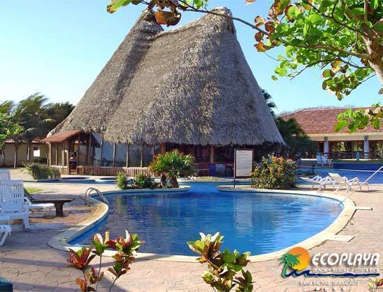 Hotel Ecoplaya, La Cruz, Costa Rica, Costa Rica hostels and hotels