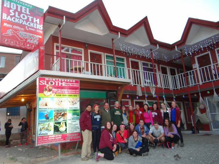 Sloth Backpackers Bed and Breakfast, Monte Verde, Costa Rica, Costa Rica hostels and hotels
