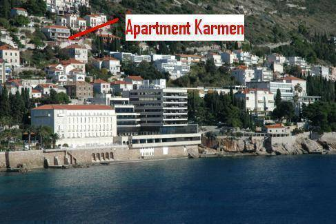 Apartment Karmen, Dubrovnik, Croatia, Croatia hostels and hotels