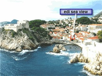 Edi Sea View Rooms, Dubrovnik, Croatia, backpackers gear and staying in cheap hotels or budget hostels in Dubrovnik
