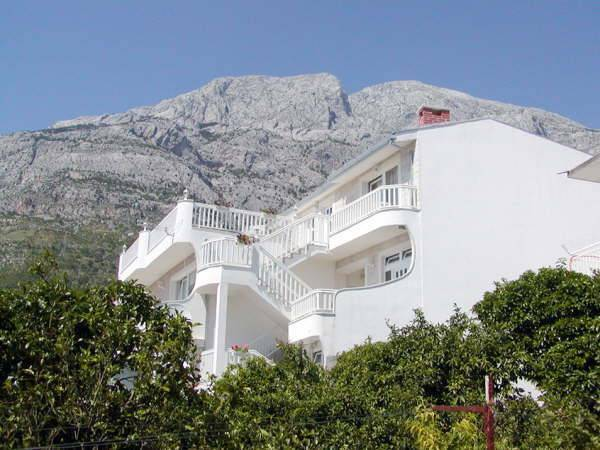 Villa Bonaca, Baska Voda, Croatia, the world's best green bed & breakfasts in Baska Voda