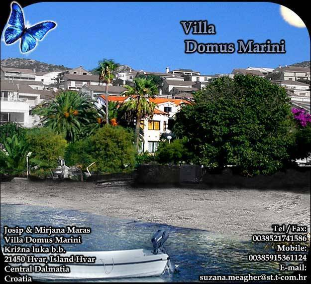 Villa Domus Marini, Hvar, Croatia, Croatia bed and breakfasts and hotels