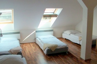 Accommodation Krakovska, Prague, Czech Republic, hostels near the museum and other points of interest in Prague