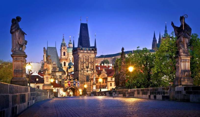 Charles Bridge International Hostel, travel locations with hostels and backpackers 1 photo