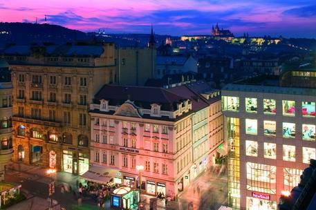 Hotel Prague Inn, Prague, Czech Republic, Czech Republic 침대와 아침 식사와 호텔