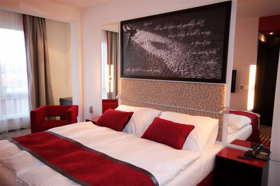 Red and Blue Design Hotel, Prague, Czech Republic, Czech Republic hostels and hotels