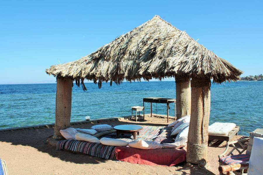 Dahab Bay Hotel, Dahab, Egypt, hostels, lodging, and special offers on accommodation in Dahab