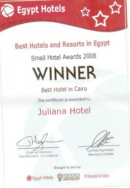 Juliana Hotel, Cairo, Egypt, hostels near ancient ruins and historic places in Cairo