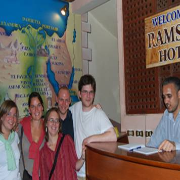 Ramses II Hotel, Cairo, Egypt, Egypt hostels and hotels