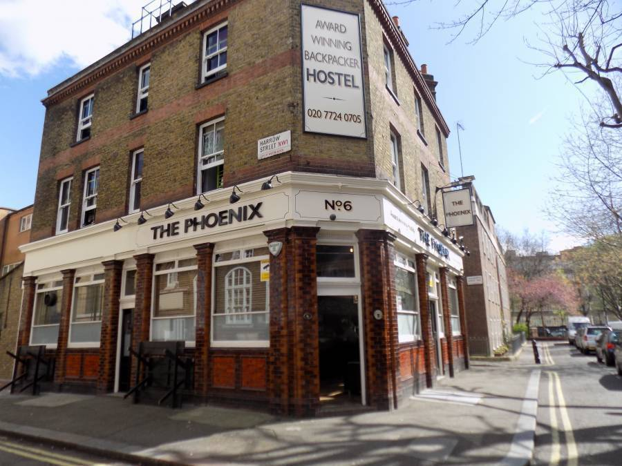 Phoenix Hostel, London, England, England hostels and hotels