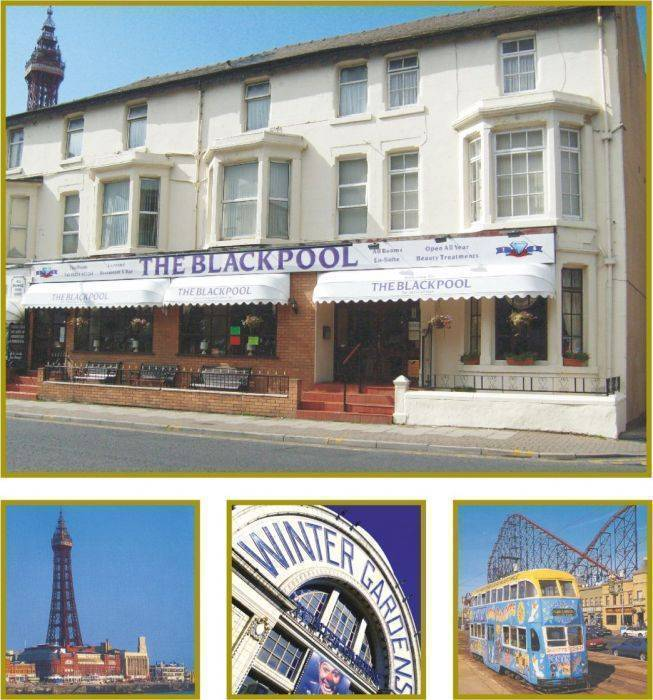 The Blackpool Hotel, Blackpool, England, England hostels and hotels