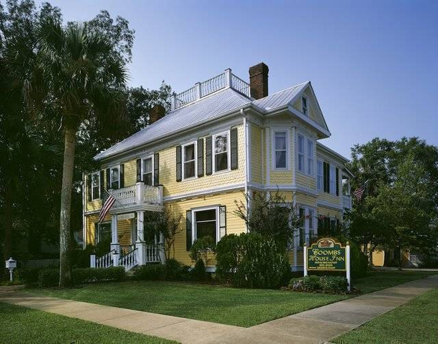 Coombs House Inn, Apalachicola, Florida, Florida hostels and hotels