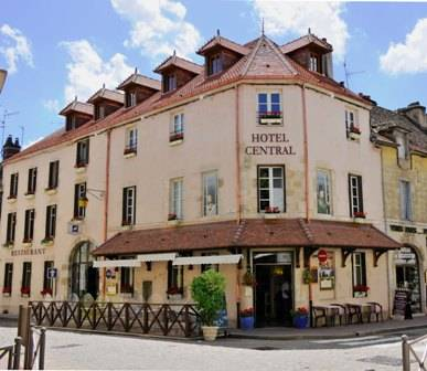 Central Hotel, Beaune, France, France bed and breakfasts and hotels