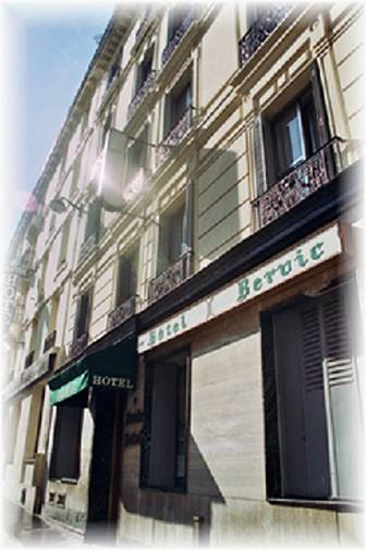 Hotel Bervic Montmartre, Paris, France, France hostels and hotels
