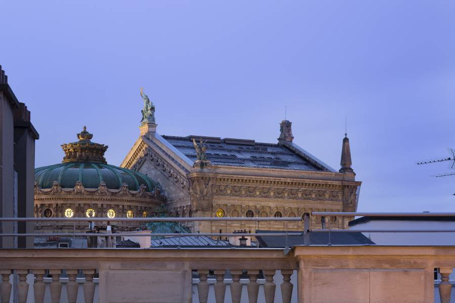 Hotel Opera Vivaldi, Paris, France, Michelin rated bed & breakfasts in Paris