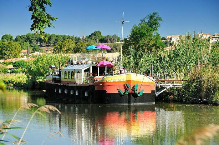 Peniche Durandal B and B Canal Du Midi, Villeneuve-les-Beziers, France, France bed and breakfasts and hotels