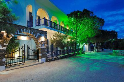 Afrodite Hotel, Paros, Greece, youth hostels and backpackers for fall foliage in Paros