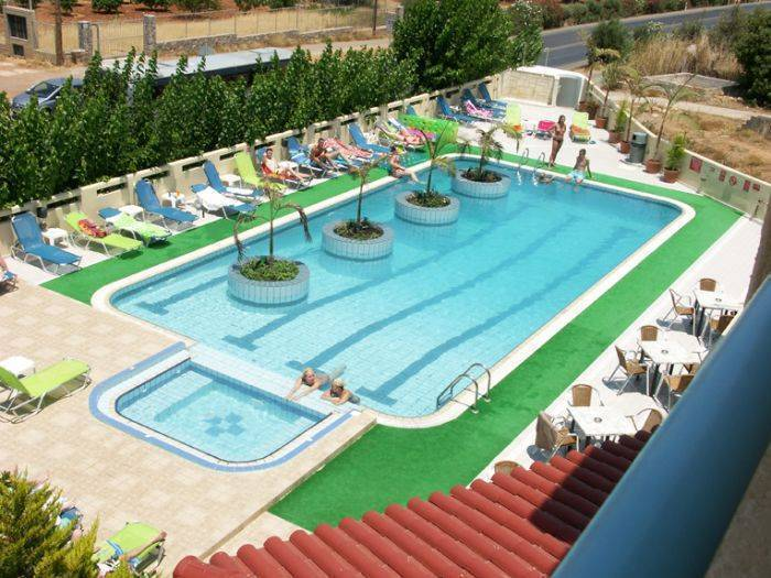 Nikos Hotel, Malia, Greece, Greece hostels and hotels