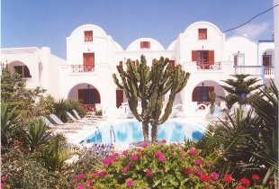 Pension George, Santorini, Greece, affordable accommodation and lodging in Santorini