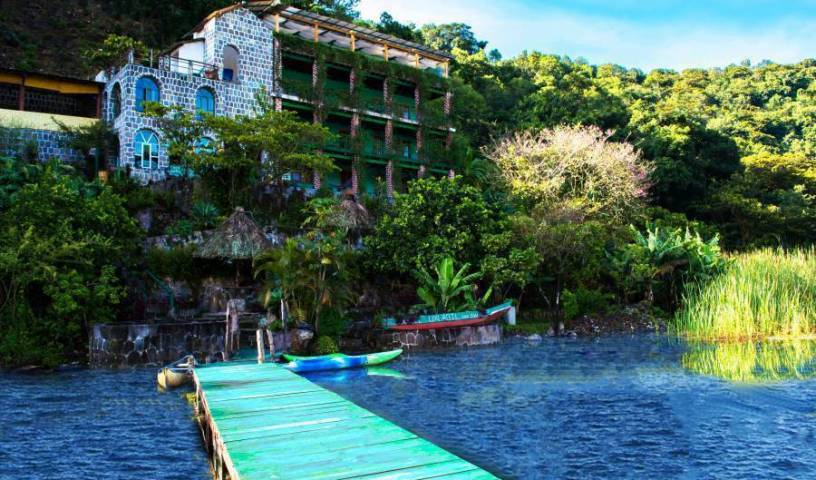 Eco Hotel Uxlabil Atitlan, bed and breakfast bookings 23 photos