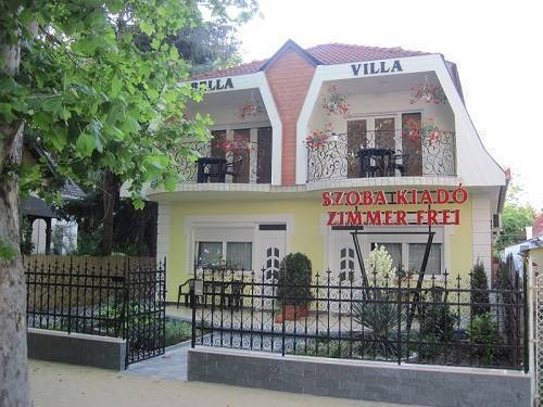 Bella Villa, Siofok, Hungary, Hungary hostels and hotels