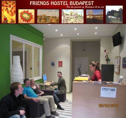 Friends Hostel Budapest, Budapest, Hungary, Hungary hostels and hotels
