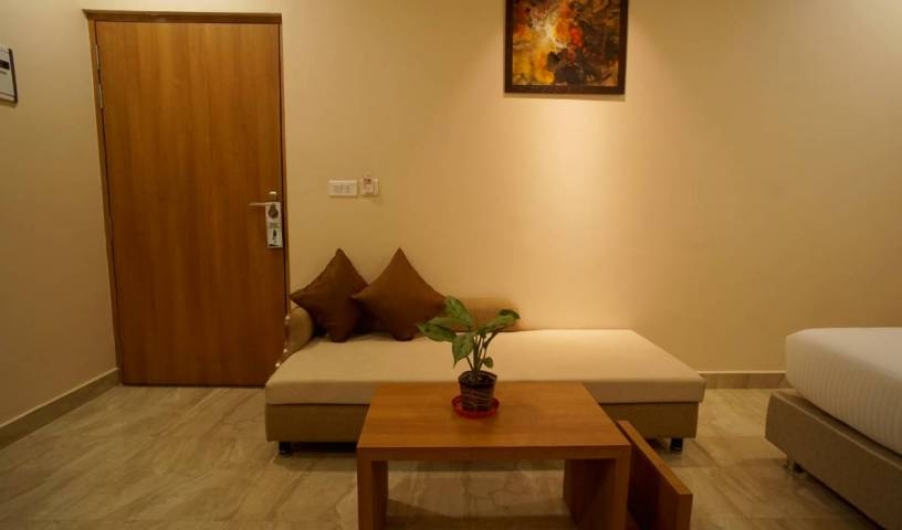 Hotel Kanha Residency - Search available rooms and beds for hostel and hotel reservations in Allahabad 1 photo