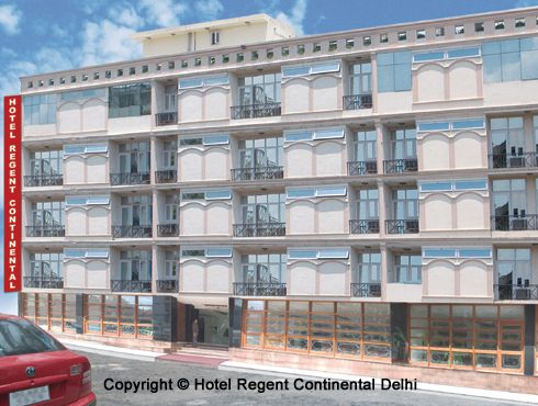 Hotel Regent Continental, New Delhi, India, excellent travel and hostels in New Delhi