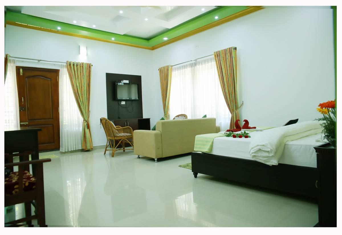 Periyar Villa Home Stay, Thekkady, India, cheap lodging in Thekkady